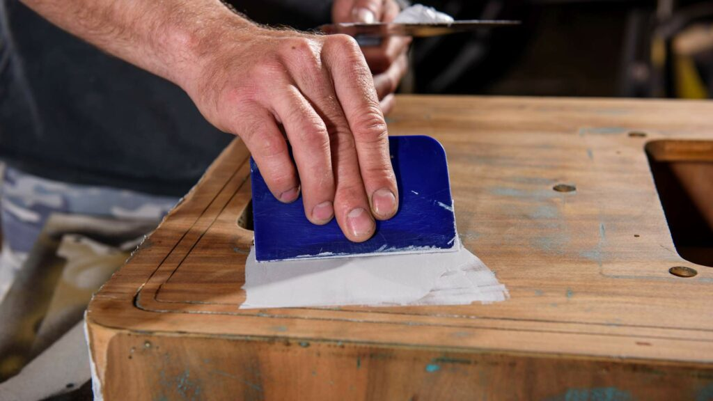 Beromat Filling and Sanding A